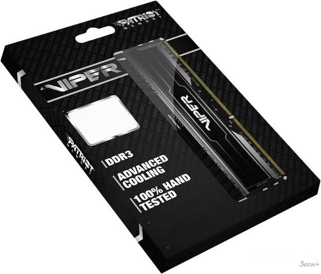Оперативная память Patriot Viper 3 Black Mamba 2x4GB KIT DDR3 PC3-14900 (PV38G186C9K)