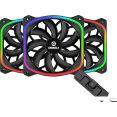 Вентилятор для корпуса Enermax SquA RGB (черный) UCSQARGB12P-BP3