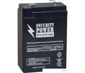 Аккумулятор для ИБП Security Power SP 6-2.8 F1 (6В/2.8 А·ч)