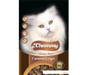 Консервированный корм для кошек Chammy с печенью в соусе 85 г