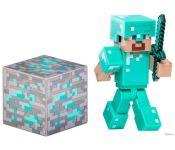 Экшен-фигурка Minecraft Series 2: Diamond Steve 16504