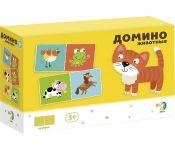 Настольная игра Dodo Домино Животные R300137