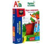 Развивающая игра Vladi Toys Пиши и вытирай. Буквы и слова VT5010-03