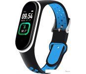 Фитнес-браслет Smarterra Fitmaster TON (черный/синий)