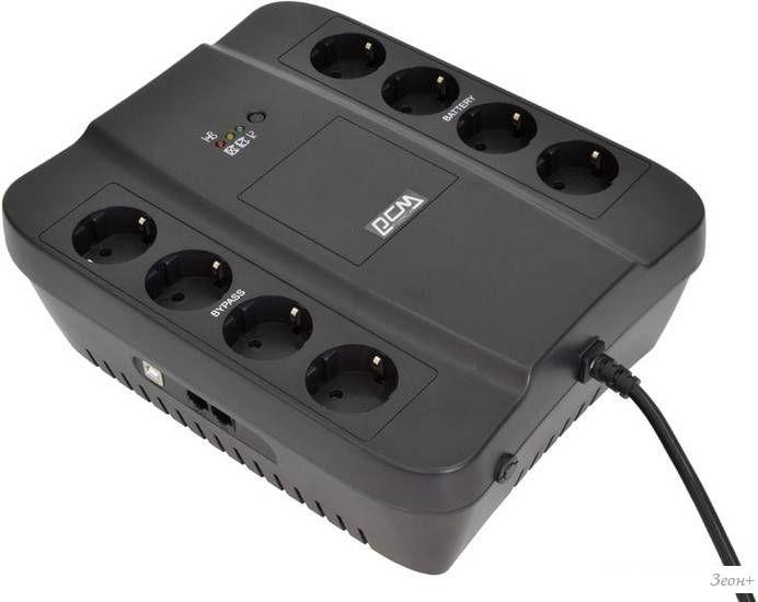 Источник бесперебойного питания Powercom Spider SPD-850U 850VA