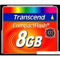Карта памяти Transcend 133x CompactFlash 8 Гб (TS8GCF133)