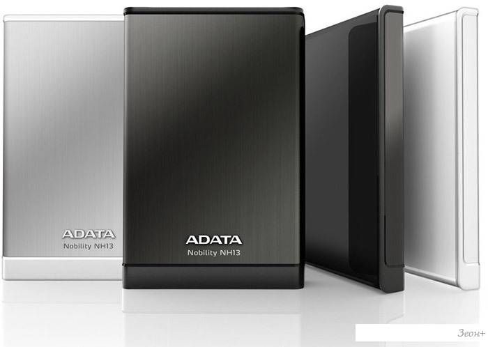 Внешний жесткий диск A-Data Nobility NH13 1TB Black (ANH13-1TU3-CBK)