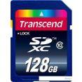 Карта памяти Transcend SDXC (Class 10) 128 Гб (TS128GSDXC10)