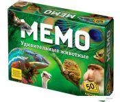 Настольная игра Бэмби Мемо - Удивительные животные