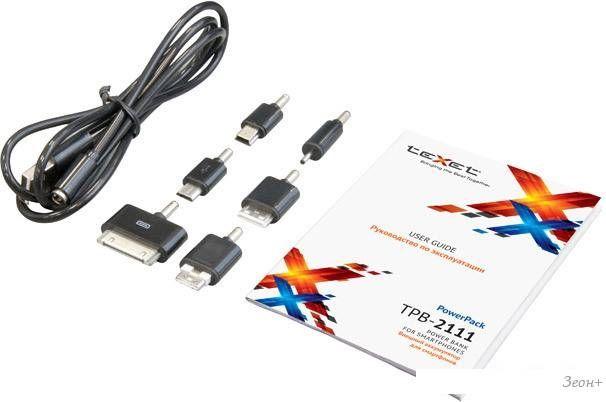 Портативное зарядное устройство TeXet TPB-2111
