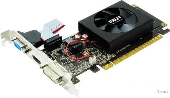 Видеокарта Palit GeForce GT 610 2GB DDR3 (NEAT6100HD46-1086F)