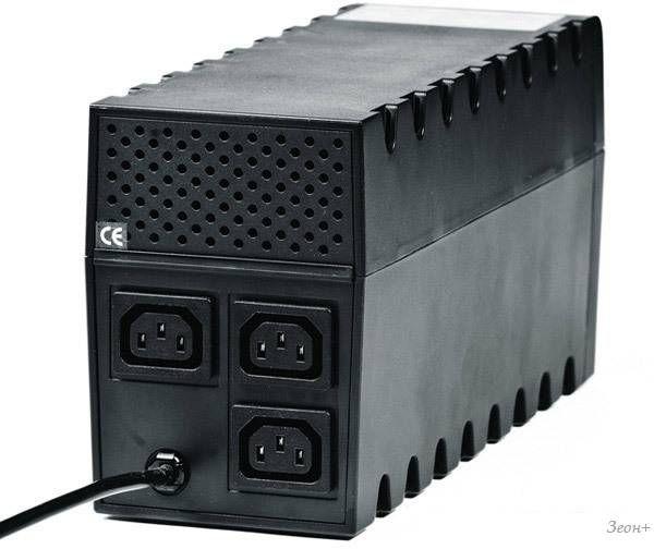 Источник бесперебойного питания Powercom Raptor RPT-1000A 1000VA