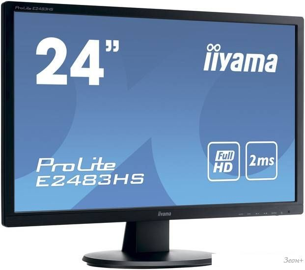 Монитор Iiyama ProLite E2483HS-B1
