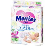 Подгузники Merries S (82 шт)