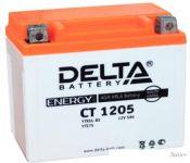 Мотоциклетный аккумулятор Delta CT 1205 (5 А·ч)