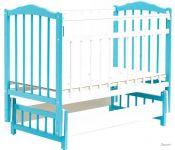 Детская кроватка Bambini 03 (белый)
