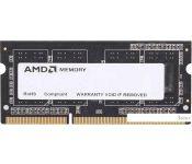 Оперативная память AMD 2GB DDR3 SO-DIMM PC3-12800 (R532G1601S1SL-UO)