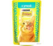 Корм для кошек Friskies с уткой в подливе 0.085 кг