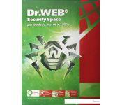 Система защиты ПК от интернет-угроз Dr.Web Security Space (2 ПК, 2 год)