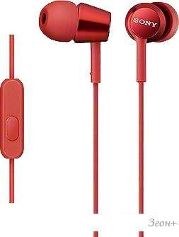 Наушники с микрофоном Sony MDR-EX150AP/R
