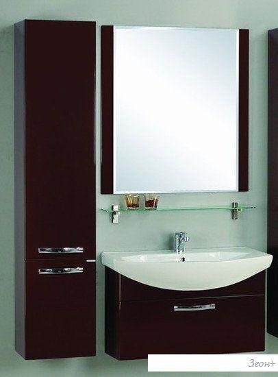 Акватон Ария 80 Зеркало коричневый (1.A141.9.02A.A43.0)