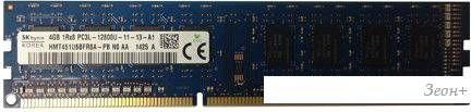 Оперативная память Hynix 4GB DDR3 PC3-12800 [HMT451U6BFR8A-PBN0]