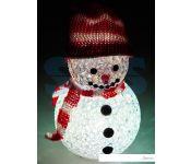 3D-фигура Neon-night Снеговик 10см, RGB [513-019]