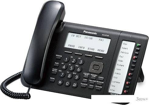 Проводной телефон Panasonic KX-NT556 Black
