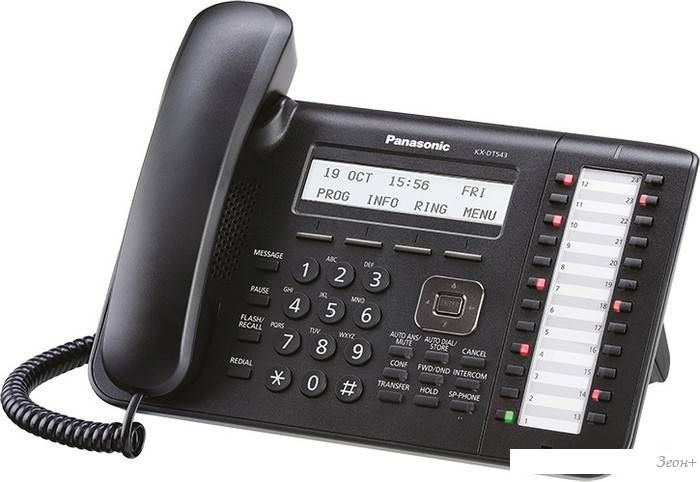 Проводной телефон Panasonic KX-DT543 Black