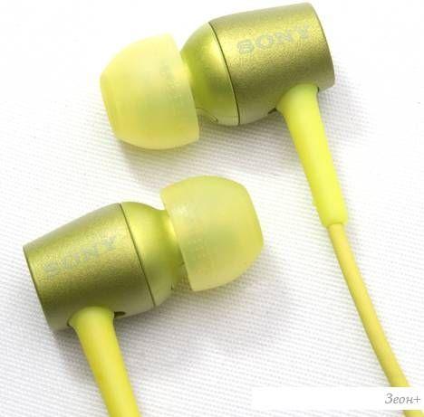 Наушники с микрофоном Sony MDR-EX750AP/Y