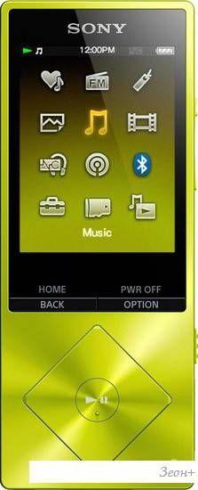 MP3 плеер Sony NW-A25HN 16GB Yellow