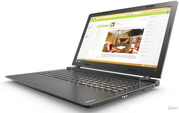 Ноутбук Lenovo 100-15IBD [80QQ00B8RK]