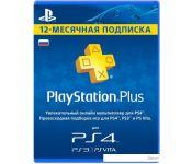 Карта подписки Sony PlayStation Plus 12 месяцев (карта)