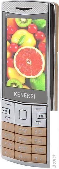 Мобильный телефон Keneksi K7 Gold