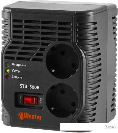 Стабилизатор напряжения Wester STB-500R
