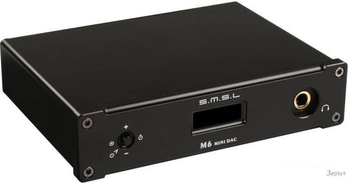 Аудиоинтерфейс SMSL M6 Black