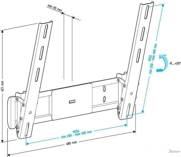 Кронштейн Holder LCD-T4612