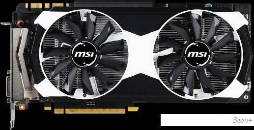 Видеокарта MSI GeForce GTX 980 4GB GDDR5 [GTX 980 4GD5T OC]