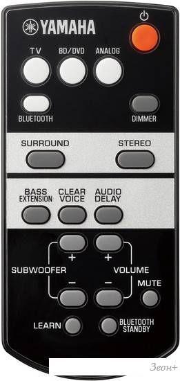 Звуковая панель Yamaha YAS-105 (серебристый)