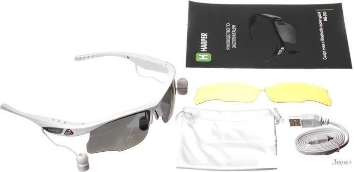 Bluetooth гарнитура Harper HB-600 (белый)