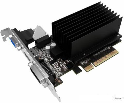 Видеокарта Palit GeForce GT 710 1GB DDR3 [NEAT7100HD06-2080H]