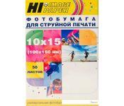 Фотобумага Hi-Black Hi-Image матовая 10x15, 230 г/м2, 50 л [A21181]