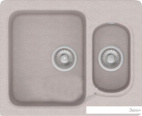 Кухонная мойка Polygran F-09 (серый)