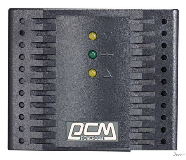 Стабилизатор напряжения Powercom TCA-2000 (черный)