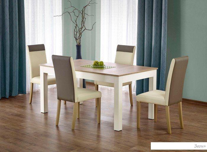 Обеденный стол Halmar Seweryn (дуб сонома/белый)