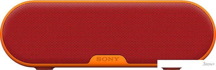 Портативная колонка Sony SRS-XB2 (красный)