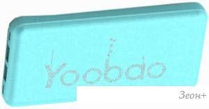 Портативное зарядное устройство Yoobao PL12 (голубой)