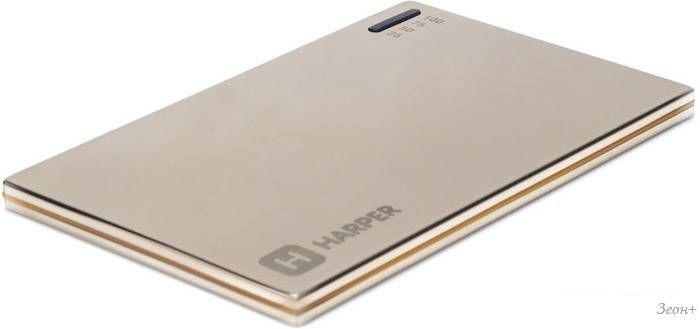 Портативное зарядное устройство Harper PB-2002 (золотистый)
