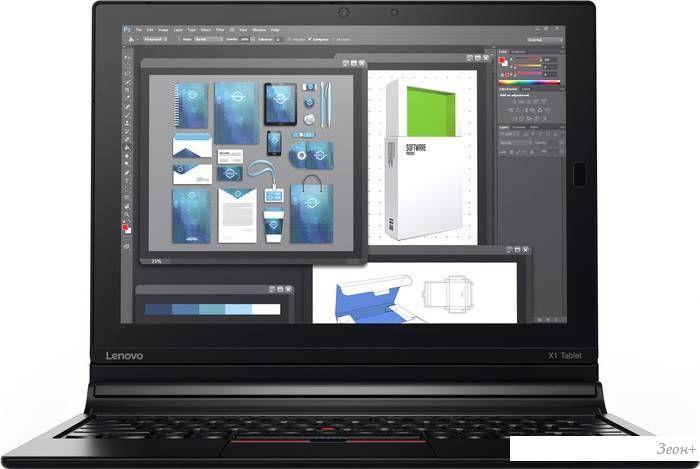 Планшет Lenovo ThinkPad X1 Tablet 256GB LTE (с клавиатурой) [20GG002BRT]