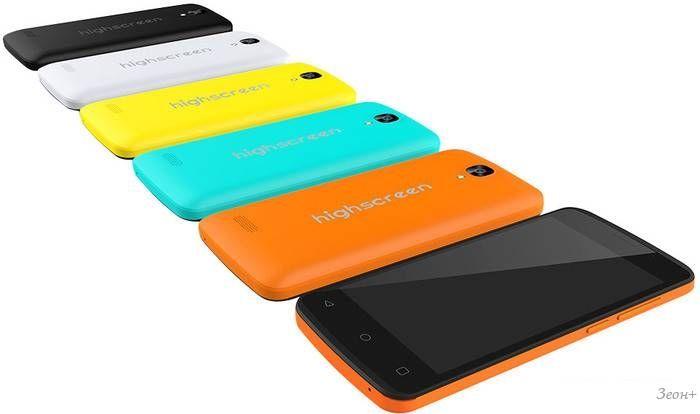 Смартфон Highscreen Easy F Yellow